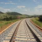 Trecho da ferrovia Norte-Sul