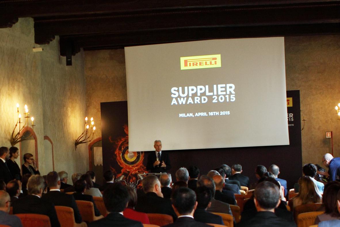 Evento de entrega do prêmio Pirelli