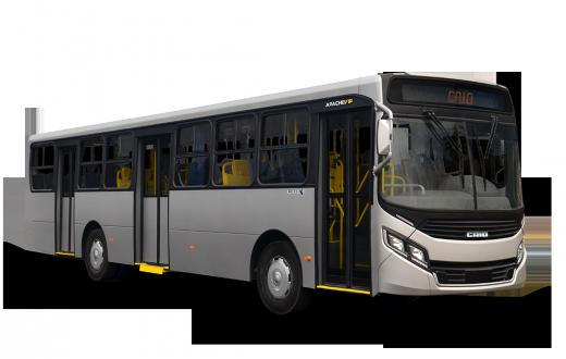 Ônibus modelo Apache Vip, o mais vendido pela Caio Induscar