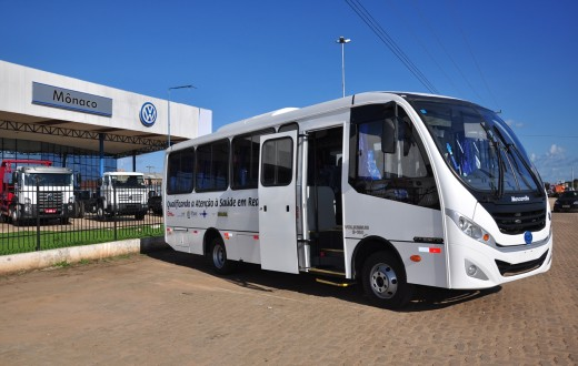 Volksbus 9.160 da MAN entregue à Secretaria de Estado de Saúde do Piauí