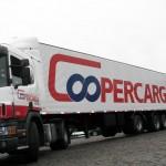 Caminhão da Coopercaga