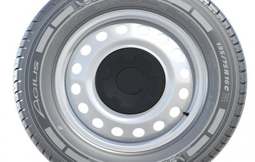 novo pneu Agilis da Michelin